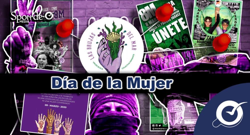 Cartel Día de la mujer México